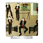 Corporate Image Shower Curtain
