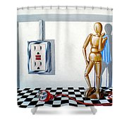 Corporate Relationship Shower Curtain
