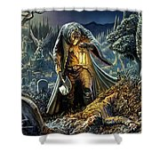Corpse Taker Shower Curtain