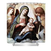 Correggio Painting Shower Curtain