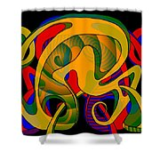 Corresponding Independent Lifes Shower Curtain