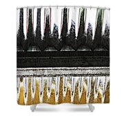 Corrugated Metal Abstract 8                              Shower Curtain