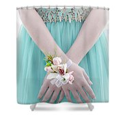 Corsage Shower Curtain by Rod Sterling