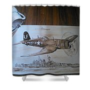 Corsair Shower Curtain