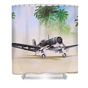 Corsair Preflight Shower Curtain