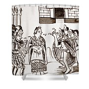 Cortes & Montezuma, 1519 Shower Curtain