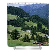 Cortina 2 Shower Curtain