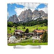 Cortina D'ampezzo, Italy Shower Curtain