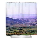 Cortona Tuscany Italy Shower Curtain