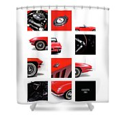 Corvette 1965 Shower Curtain