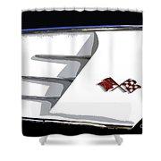 Corvette Colors Shower Curtain