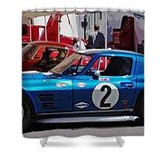 Corvette Grand Sport 1963 Shower Curtain