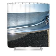 Corvette Waves Shower Curtain