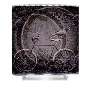 Corvid Hitchhiker Shower Curtain