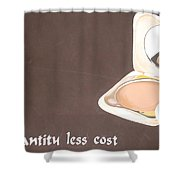 Cosmetics Advert  Shower Curtain
