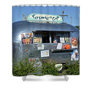 Cosmic Cafe Shower Curtain