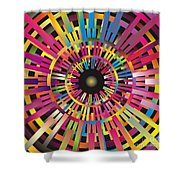 Cosmic Calibrator Shower Curtain