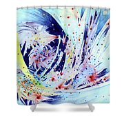 Cosmic Candy Shower Curtain