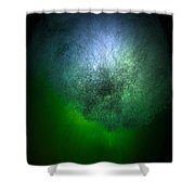 Cosmic Cloud Shower Curtain