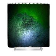 Cosmic Comet Shower Curtain