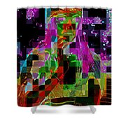 Cosmic Cup Of Coffee Shower Curtain