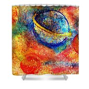 Cosmic Energy Shower Curtain