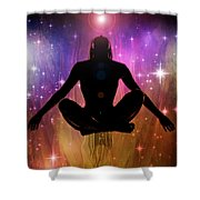 Cosmic Enlightenment... Shower Curtain