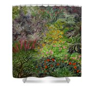 Cosmic Garden Shower Curtain