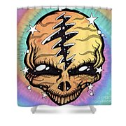 Cosmic Head Shower Curtain