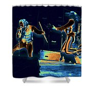 Cosmic Ian And Leaping Martin Shower Curtain