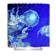 Cosmic Jellies Shower Curtain