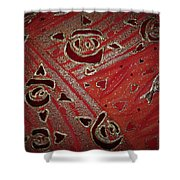Cosmic Melody Shower Curtain