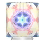Cosmic Portal Shower Curtain