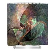 Cosmic Tundra Shower Curtain