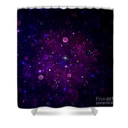 Cosmic Wonders Shower Curtain