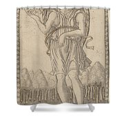 Cosmico (genius Of The World) Shower Curtain