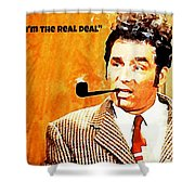 Cosmo Kramer The Real Deal Shower Curtain