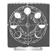 Cosmos 17 Tee Shower Curtain
