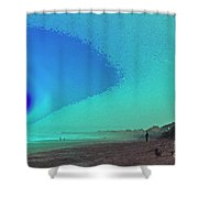 Cosmos Calling Shower Curtain