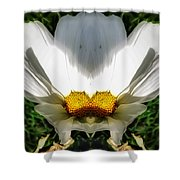 Cosmos Couch Shower Curtain