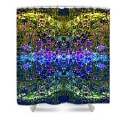 Cosmos Crown Jewels 2 Shower Curtain