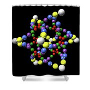 Cosmos Dna Shower Curtain