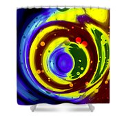 Cosmos Drift Shower Curtain