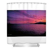 Costa Del Sol Sunset In Marbella Shower Curtain