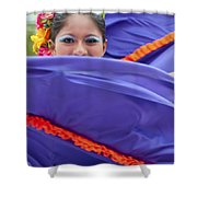 Costa Maya Dancer II Shower Curtain