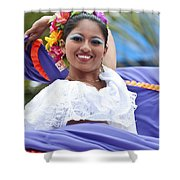 Costa Maya Dancer Shower Curtain