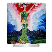 Costa Rica Shower Curtain