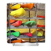 Costa Rica Kayaks Shower Curtain