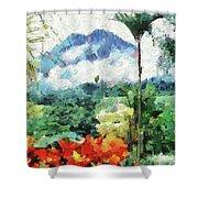 Costa Rica Paradise Shower Curtain