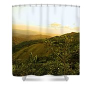 Costa Rica Rolling Hills 2 Shower Curtain